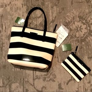 TWO Kate Spade items : bag & pouch